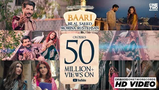 Baari Lyrics in Hindi & English - Bilal Saeed & Momina Mustehsan