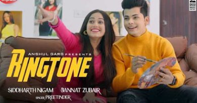 Ringtone Song Lyrics in Hindi & English - Jannat Zubair & Siddharth Nigam