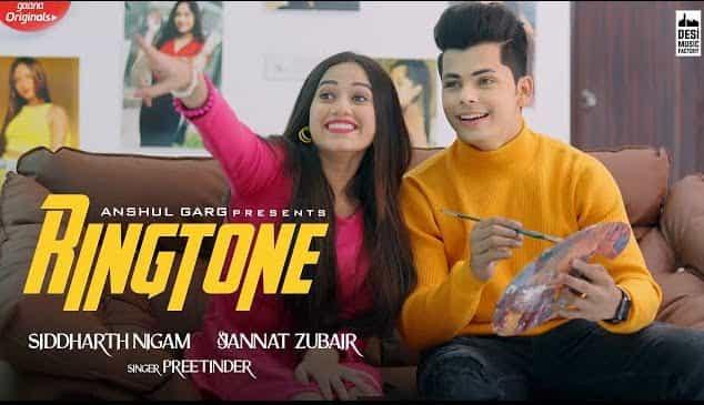 Ringtone Song Lyrics in Hindi & English - Jannat Zubair & Siddharth Nigam